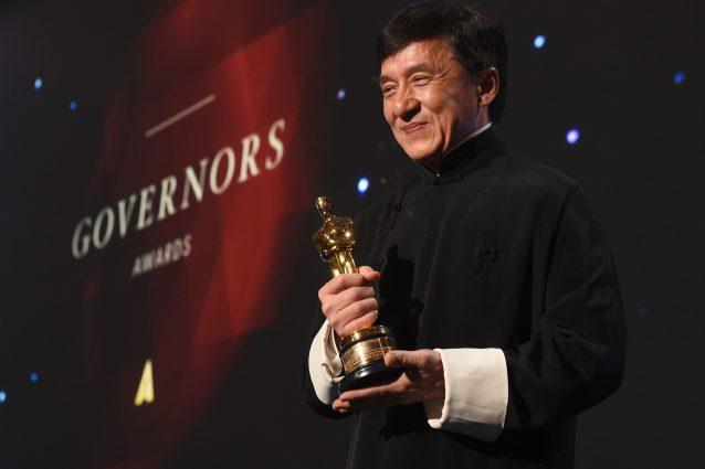 Oscar alla carriera per il grande maestro Jackie Chan