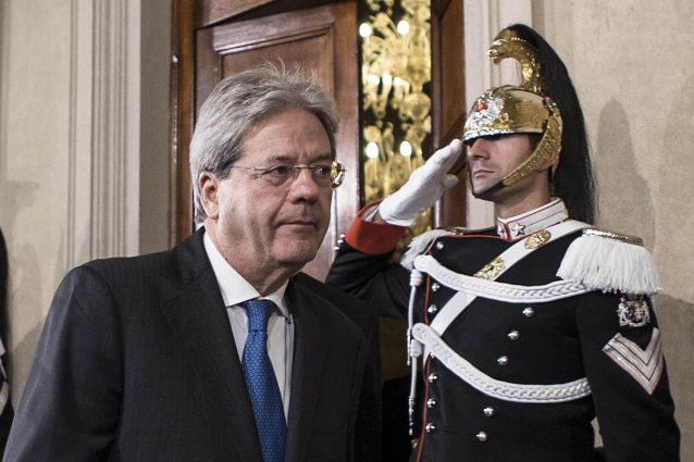 Foto Roberto Monaldo / LaPresse11–12–2016 RomaPoliticaQuirinale – Paolo Gentiloni è il Presidente del Consiglio incaricato