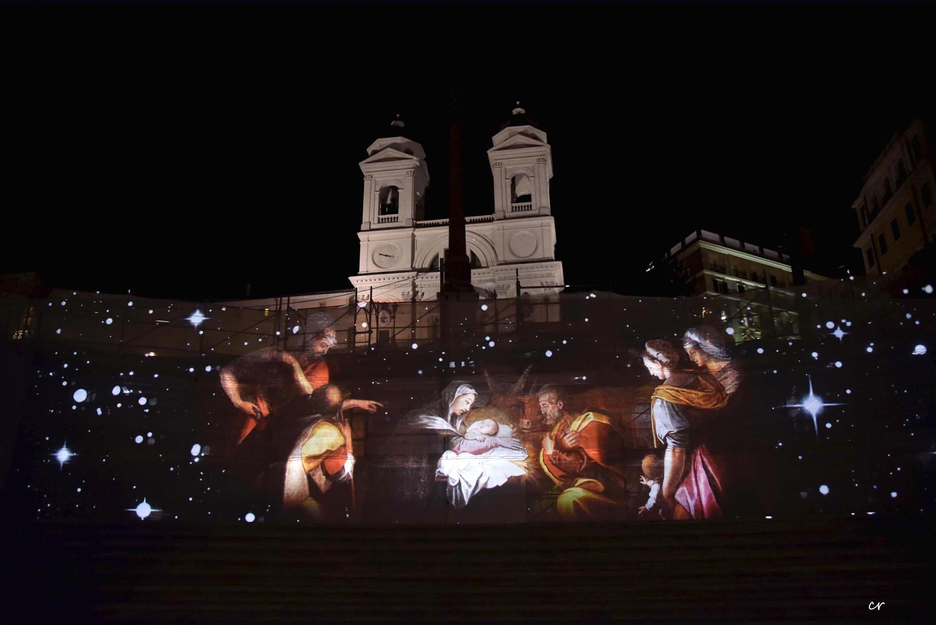 Piazza di Spagna, quando il Presepe e meraviglia (e non ...
