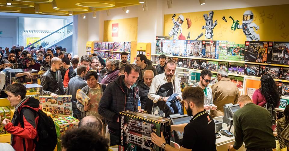Lego store ufficiale apertura il 1 novembre al centro - Porta di roma apertura ...