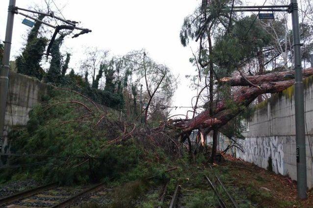 13 gennaio 2017 | Maltempo a Roma: disagi sulle ferrovie