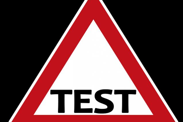 test immagine accentata