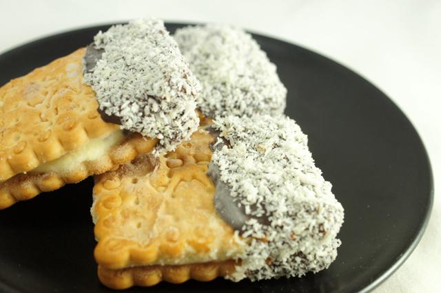 Biscotto gelato fatto in casa senza gelatiera - Cucina fan page ...