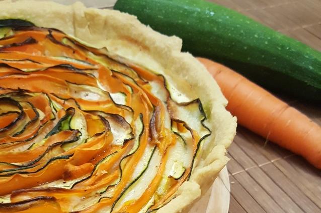 Quiche di verdure la ricetta per realizzarla - Cucina fanpage ricette ...