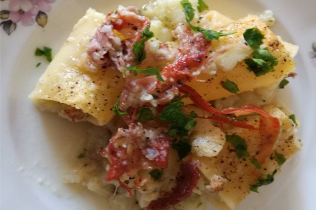 Pasta e cavolfiore al forno una ricetta semplice e veloce for Cucina veloce e semplice