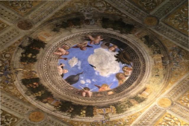 Mantova dopo il terremoto riapre la camera degli sposi di for Mantova palazzo ducale camera degli sposi