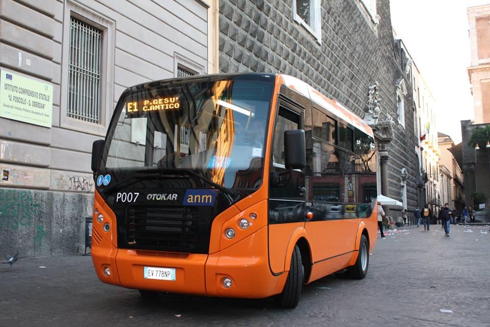Arrivano i nuovi minibus Anm per il Centro storico  |Anm