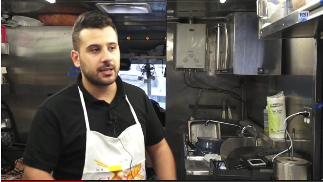 Il re dello street food italiano a new york un napoletano for Un re a new york