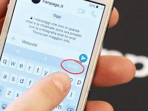 """Digiti la parola """"Vesuvio""""? Il suggerimento è """"lavali"""": la gaffe di Apple"""