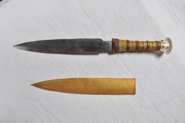 Il pugnale di Tutankhamon è fatto con il ferro di un meteorite