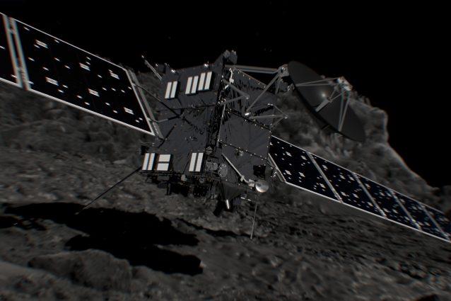 Sonda Rosetta, al termine la missione spaziale