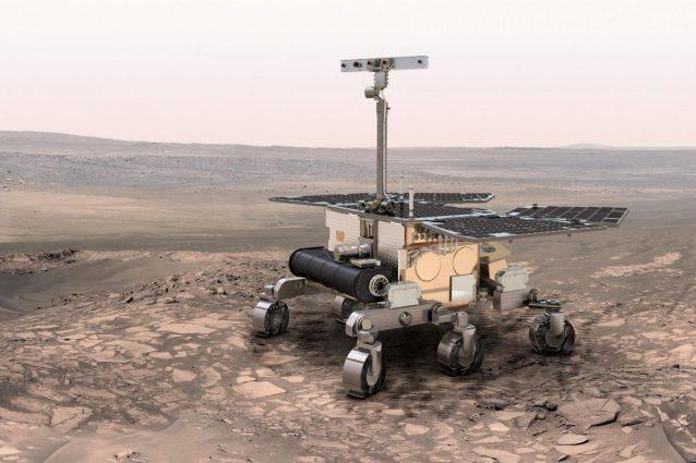 Il lander Schiaparelli è precipitato a 300 km orari