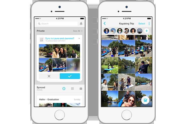 Facebook Moments, la nuova app per condividere le foto solo con gli amici