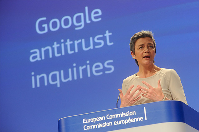 Google all'Antitrust UE: Android favorisce la concorrenza