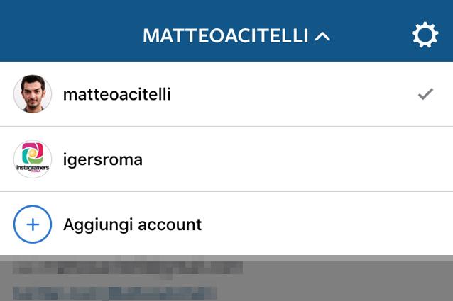 Instagram, disponibile il multiaccount su iOS: ecco come gestire più profili