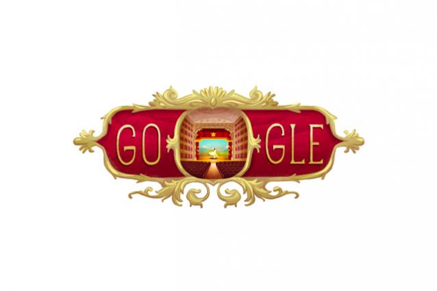 Google celebra il 238 anniversario del Teatro alla Scala con un doodle