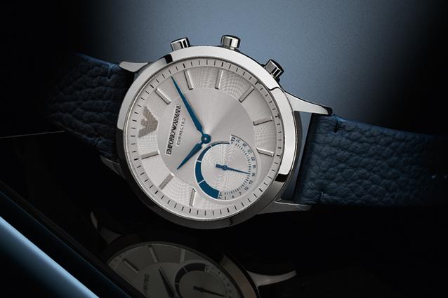Classe ed eleganza nello smartwatch di Giorgio Armani