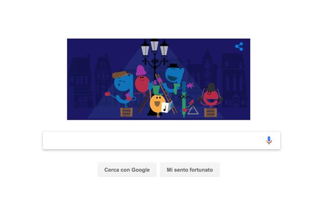 Buone feste targate Google