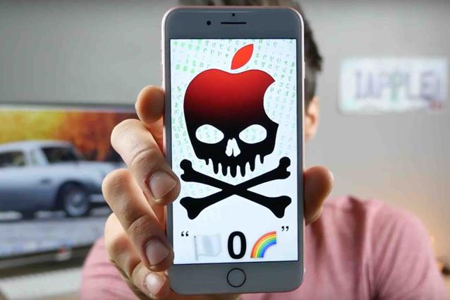 Questo messaggio manda tutti gli iPhone con iOS 10 in freeze