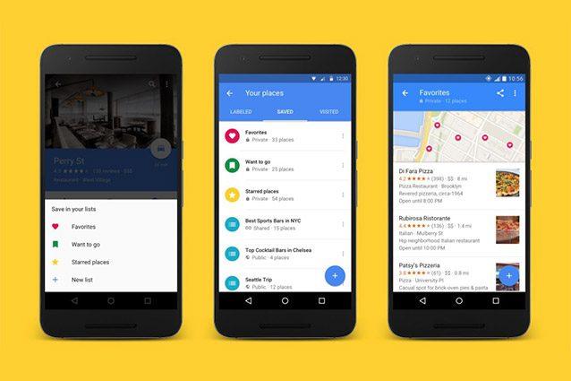 Google Maps vi trasforma in ciceroni, con la condivisione delle liste