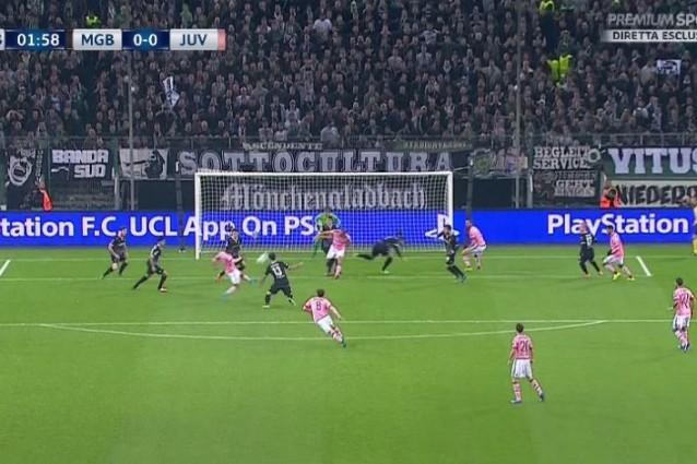 Juventus Subito Pericolosa Borussia M Nchengladbach