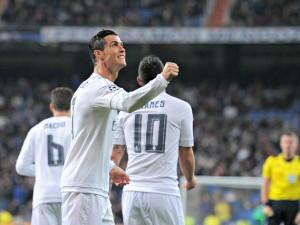 Cristiano Ronaldo autore di 4 gol nella gara di Champions col Malmoe