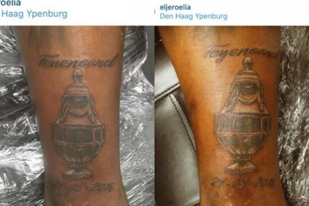 Il clamoroso epic fail di Elia, tatuaggio errato