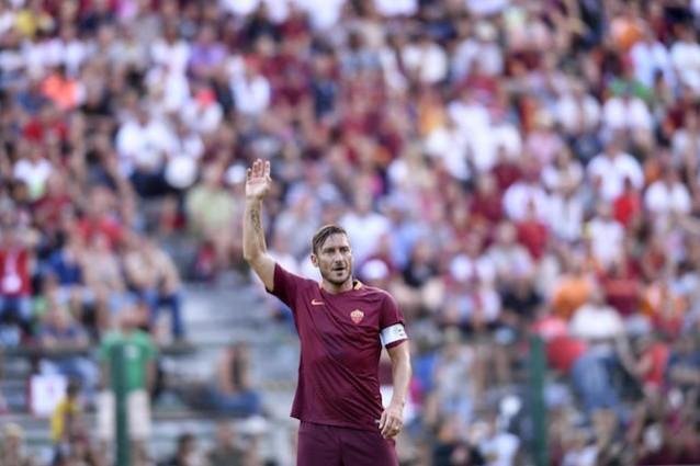 La lettera d'amore di Totti alla Roma