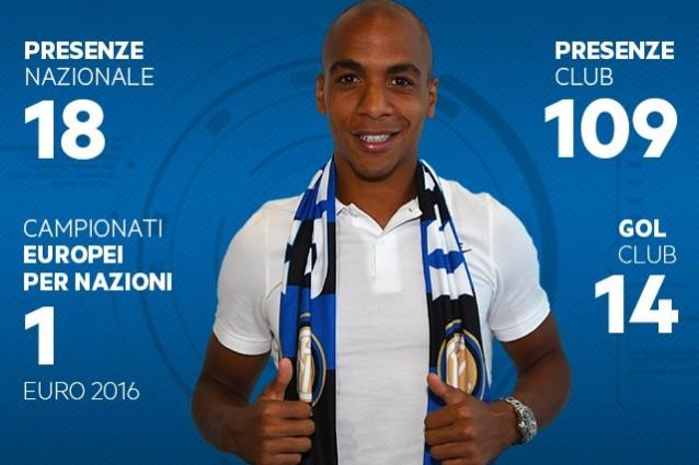 Inter, il comunicato sull'arrivo di Joao Mario. Stasera sarà a San Siro