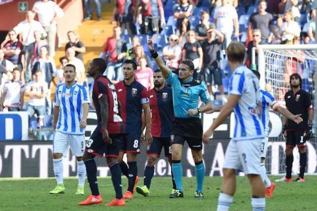 Genoa: Pandev squalificato per due turni, ma il giudice colpisce anche Zampano