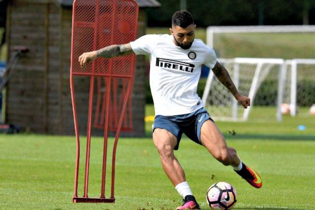 Finalmente Gabigol: primo allenamento all'Inter, ci sarà con l'Empoli