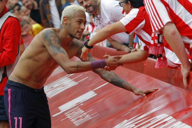 Barcellona, senza Messi manita al Gijon. Neymar realizza una doppietta