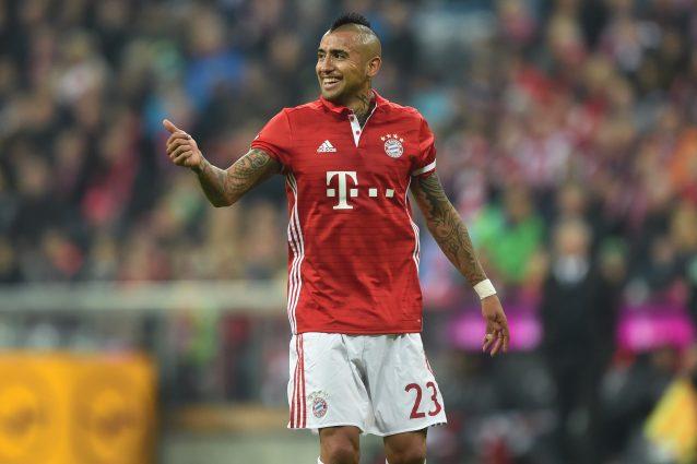 Bundesliga, Vidal e Costa trascinano il Bayern Monaco 2-0 al Borussia Mönchengladbach