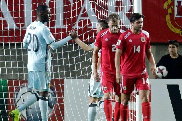 Gran gol di Dries Mertens in Gibilterra-Belgio finita 0-6