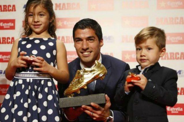 Scarpa d'oro, secondo successo in 3 anni per Luis Suarez