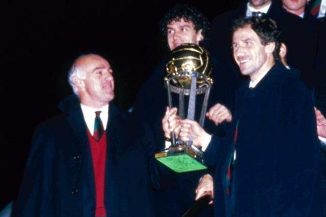Il Milan di Sacchi terza squadra più forte di tutti i tempi