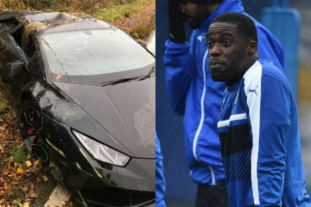 Schlupp spacca la Lambroghini: