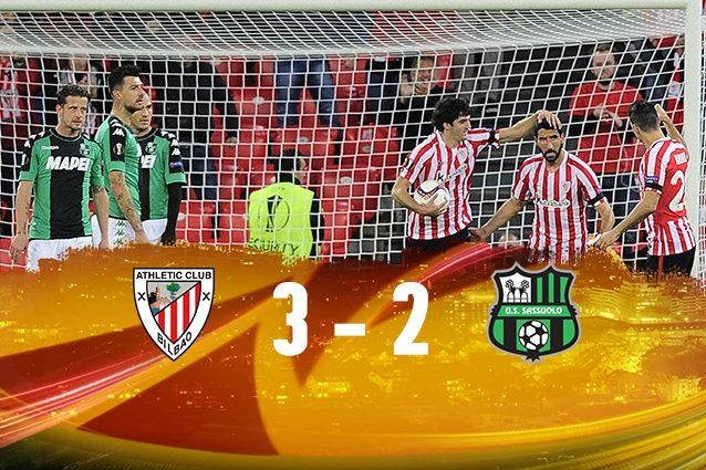Europa League: Athletic Bilbao-Sassuolo in diretta. Live