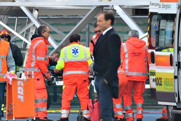 Juventus, le condizioni di Barzagli: ridotta la lussazione alla spalla