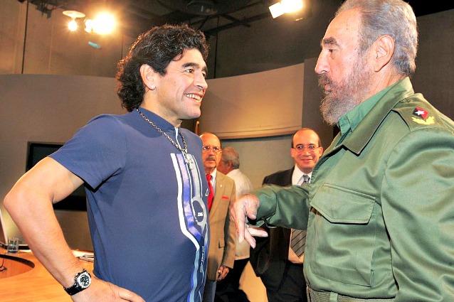 Maradona ricorda Fidel Castro: