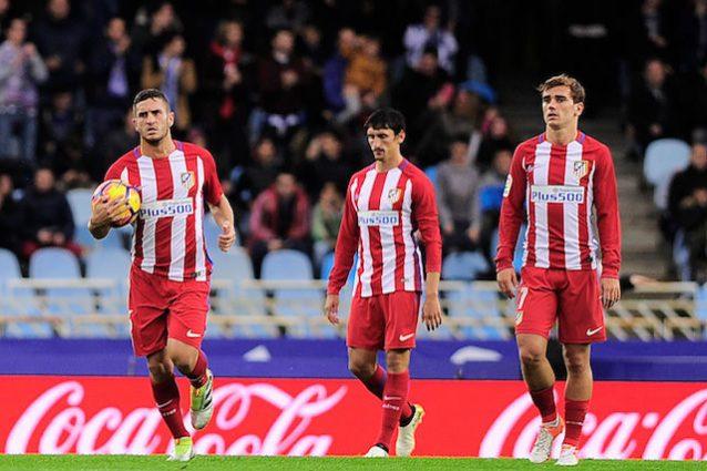 Scivolone dell'Atletico: Colchoneros battuti 2-0 in casa della Real Sociedad