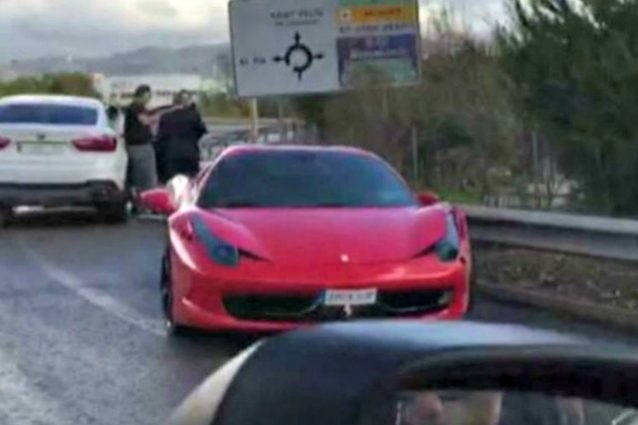 Incidente in Ferrari per Neymar, illeso