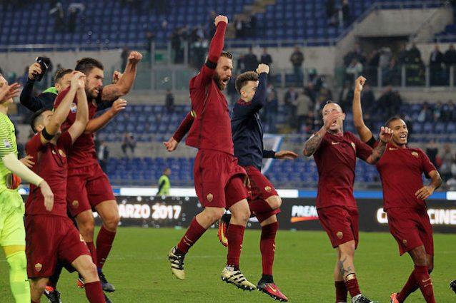 Roma-Lazio 2-0, derby ai giallorossi. Confronto fra i ct