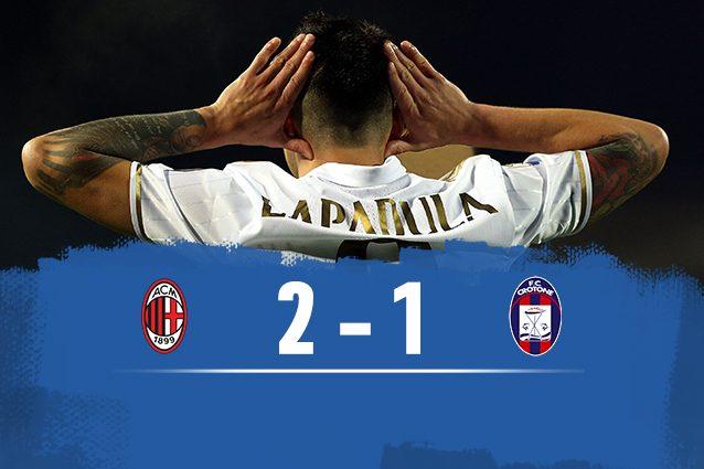 MILAN-CROTONE - Probabili formazioni e ultime notizie Serie A