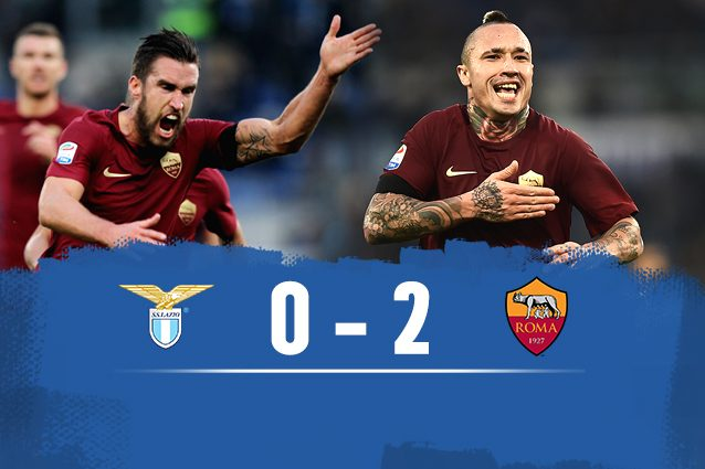 Video Gol Lazio-Roma 0-2: Highlights, Sintesi e Tabellino
