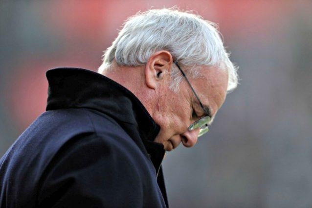 Leicester a pezzi: è zona retrocessione. Ranieri.