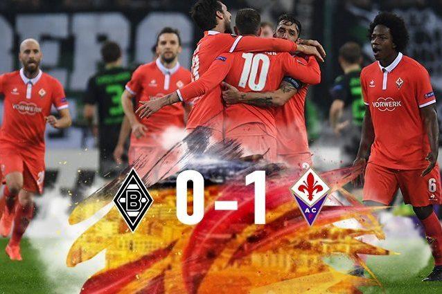 Europa League, Borussia Mönchengladbach-Fiorentina 0-1: decide un eurogol di Bernardeschi