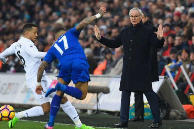 Premier League, Swansea-Leicester 2-0: altro ko per Ranieri