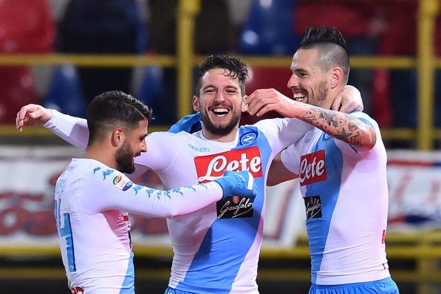 Napoli-Genoa, formazioni ufficiali: Giaccherini e Diawara dal primo minuto
