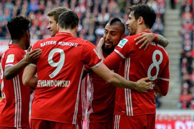 Tris al Colonia e Bayern Monaco a +7 sul Lipsia